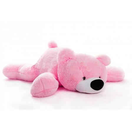 Мягкая игрушка Мишка 180 см розовый, фото 2