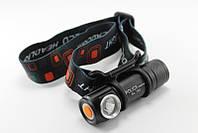 Налобный фонарь Bailong BLT88XPE USB зарядка, КОД: 110677