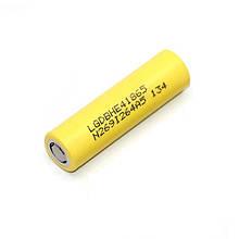 Аккумулятор высотоковый LG 18650 LGDBHE41865 35A 2500mAh