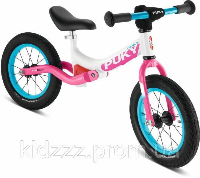 Детский беговел Puky LR Ride  белый/розовый (Германия)