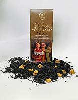 Новогодний Чай черный с натуральными добавками Солоха, 100г.