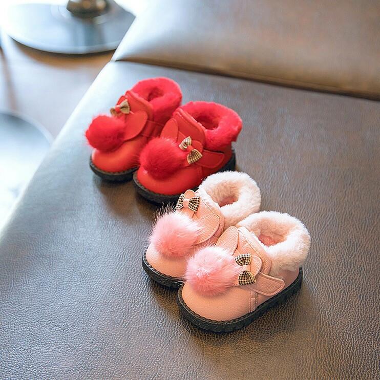 Угги детские зимние на  девочку розовые