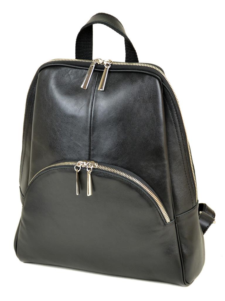 Сумка Женская Рюкзак кожа М 135 black