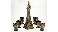 Подарочный винный набор Эйфелева башня, 7 предметов набор Париж , производство Украина, 502873666, фото 1