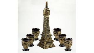 Подарочный винный набор Эйфелева башня, 7 предметов набор Париж , производство Украина, 502873666