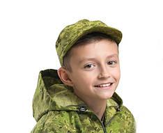 Детская кепка камуфляж Роса