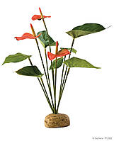 Растение ExoTerra Anthurium Bush