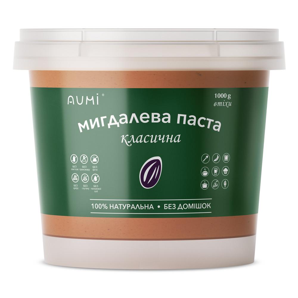 Миндальная паста классическая, 1кг, всегда свежая, 100% натуральная, украинский живой миндаль, без добавок