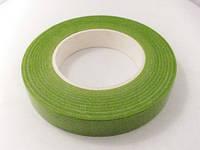 Флористическая тейп-лента зеленого (травянистого цвета ширина 12 мм, фото 1
