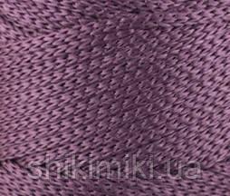 Трикотажный полиэфирный шнур PP Macrame,цвет лиловый