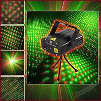 Лазерний міні проектор Mini Laser Stage Lighting Point, фото 1