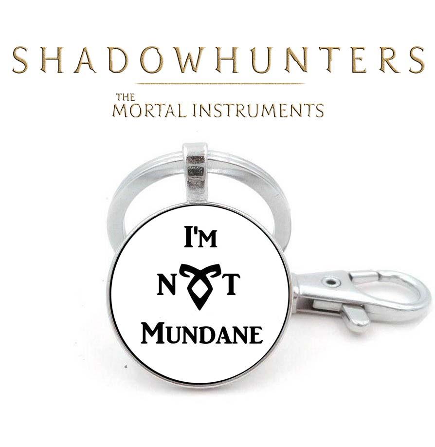 "Брелок ""I'M NOT A MUNDANE"" Орудия смерти / The Mortal Instruments"