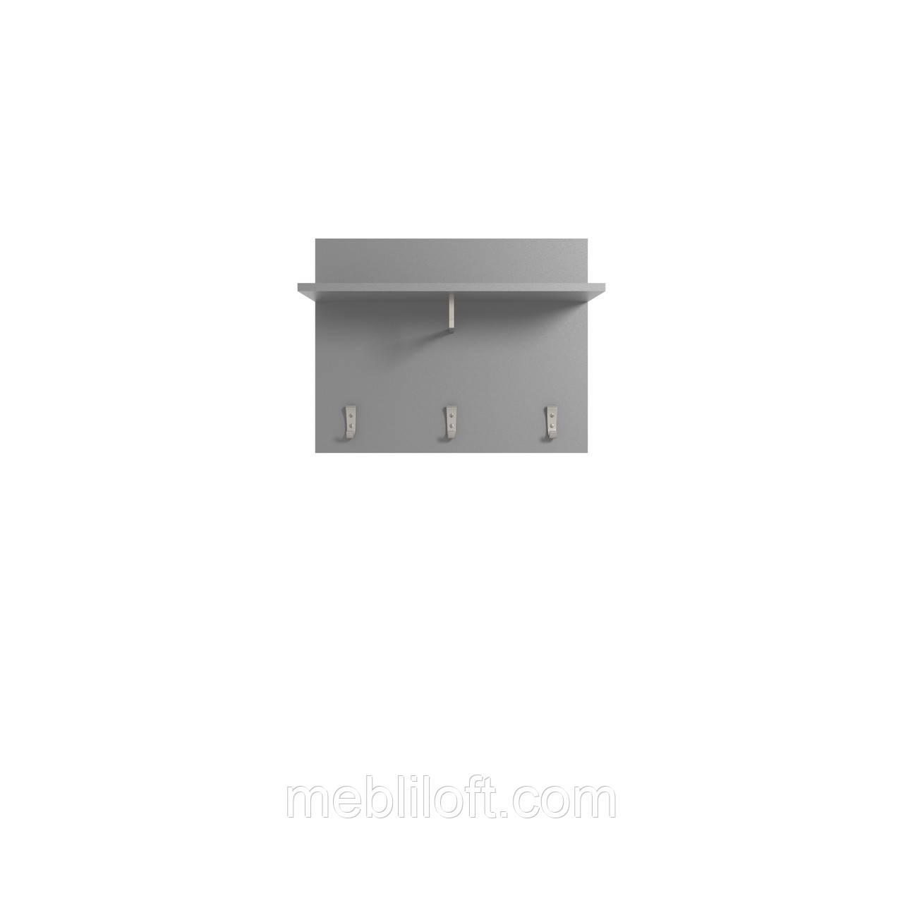 Вешалка навесная  Арте / Arte Графит / дуб каменный
