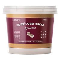 Арахисовая паста Кремовая, 1 кг, классический вкус, всегда свежая, 100% натуральная, без добавок