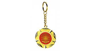 Медаль брелок Золотой человек