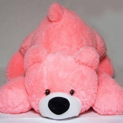 Мягкая игрушка Мишка Тедди 85 см розовый , фото 2