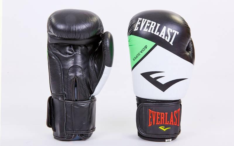 Перчатки боксерские кожаные на липучке BAD BOY. Распродажа! Оптом и в розницу!