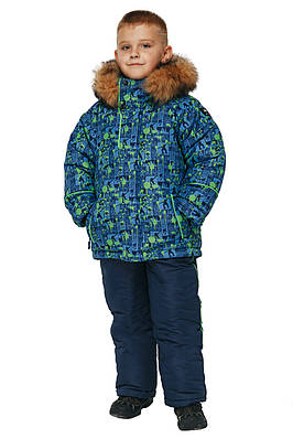 Детский зимний комбинезон для мальчика от производителя  26,28
