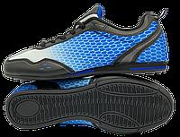 Футзалки DeMur (р. 36-41) Black-Blue, фото 1