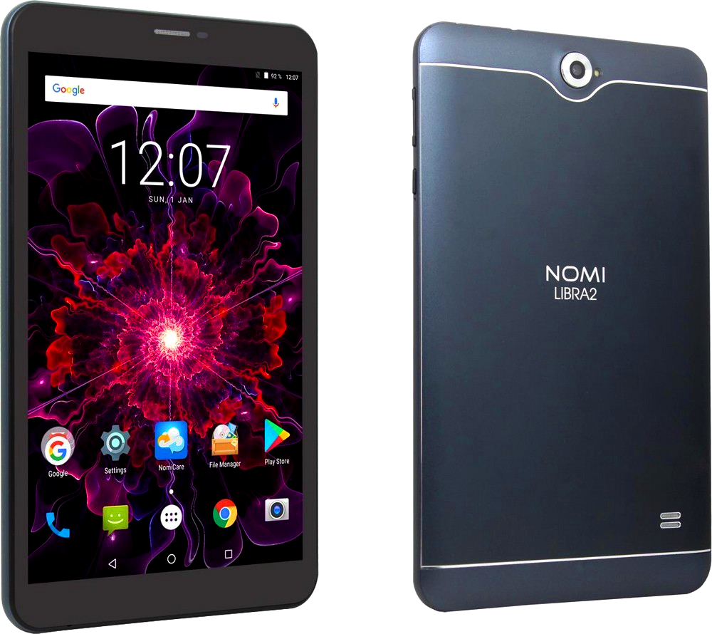 Планшет Nomi C080010 1/16Gb Grey 2 SIM