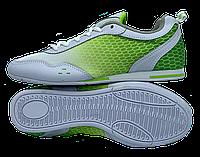 Футзалки DeMur (р. 36-41) White-Green, фото 1