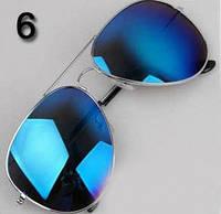 Очки № 6. Классический стиль - авиатор для мужчин и женщин