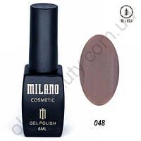 Гель-лак Milano Cosmetic №048, 8 мл