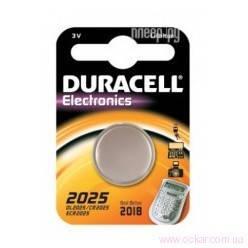 Батарейка Duracell DL2025 (CR2025) Litium таблетка, 1шт. на блист. (1/10) [121034], фото 2