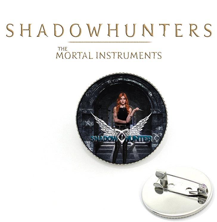 Значок с Клэри Фрэй Орудия смерти / The Mortal Instruments