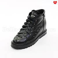 Женские ботинки клёпки сбоку, фото 1