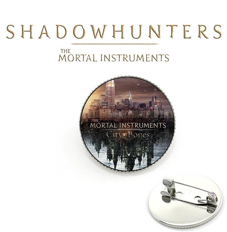 Значок с изображением города Орудия смерти / The Mortal Instruments