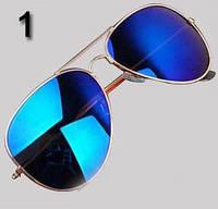 Очки № 1. Классический стиль - авиатор для мужчин и женщин.
