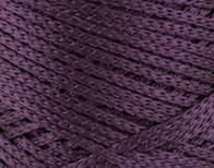 Трикотажный полиэфирный шнур PP Macrame,цвет сливовый