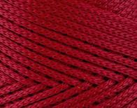Трикотажный полиэфирный шнур PP Macrame,цвет красный