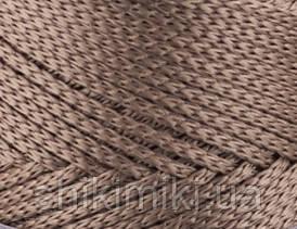Трикотажный полиэфирный шнур PP Macrame,цвет карамель