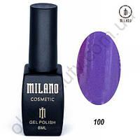 Гель-лак Milano Cosmetic №100, 8 мл