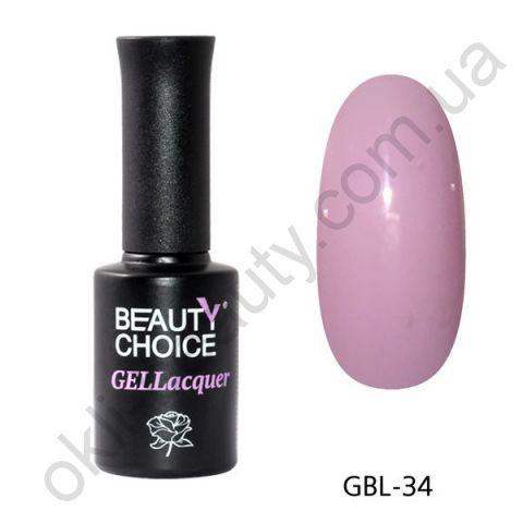 Гель-лак Beauty Choice GBL-34, 10 мл