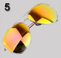 Очки № 5. Классический стиль - авиатор для мужчин и женщин.