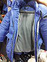 "Подростковая зимняя куртка на мальчика ""Х5""  Размеры 128- 158, фото 4"