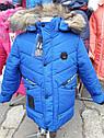 "Подростковая зимняя куртка на мальчика ""Х5""  Размеры 128- 158, фото 5"
