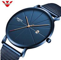 NIBOSI Minimal Quartz Наручные мужские часы, фото 1