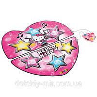 Оригинал. Музыкальный инструмент Танцевальный Коврик Hello Kitty Smoby 27272