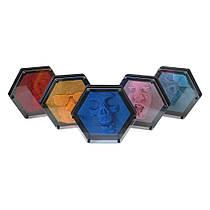 Гвозди ART PIN Гексагон пластик