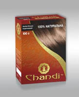 """""""Chandi"""". Краска для волос на основе натуральной хны. Серия """"100% натуральная""""."""