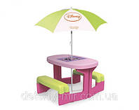 Оригинал. Детский Столик для Пикника с Зонтиком Mouse Smoby 310274