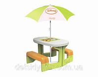 Оригинал. Детский Столик для Пикника с Зонтиком Winnie Smoby 310272