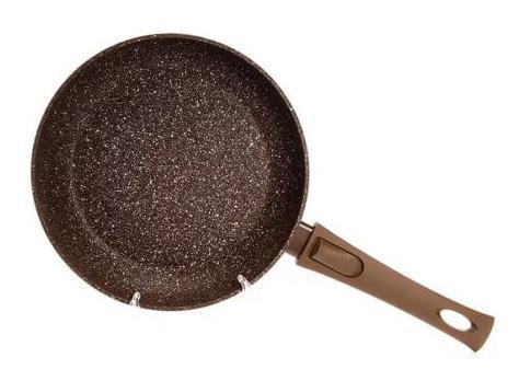 Сковорода Fissman Smoky Stone Ø24см со съемной ручкой