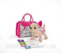 Собачка для маленькой модницы дизайнера Chi Chi Love Color Me Mine Simba 5895299