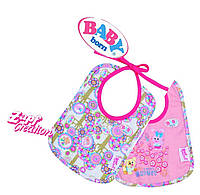 Оригинал. Набор Слюнявчиков для куклы Baby Born Zapf Creation 818305