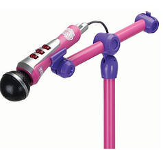 Оригинал. Музыкальный инструмент Микрофон с подставкой Violetta Smoby 27223